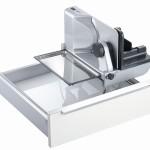 1. Brotschneidemaschine Schublade